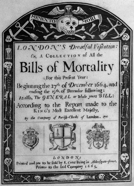 The London Bills of Mortality Symposium, Folger Shakespeare Library