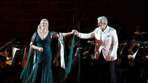 Concert with Placido Domingo