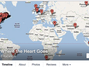 Where the Heart Goes Facebook Reach