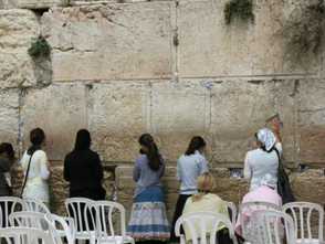 Kindness at the Wailing Wall in Jerusalem
