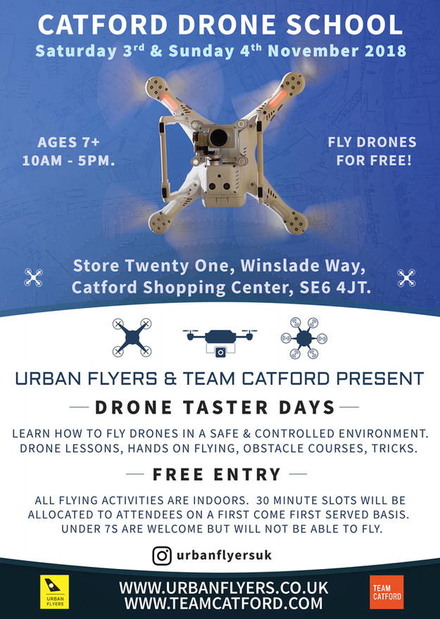 Urban Flyers in Partnership with Team Catford