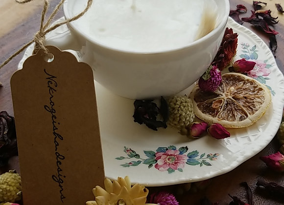 Flourished Tea Cup