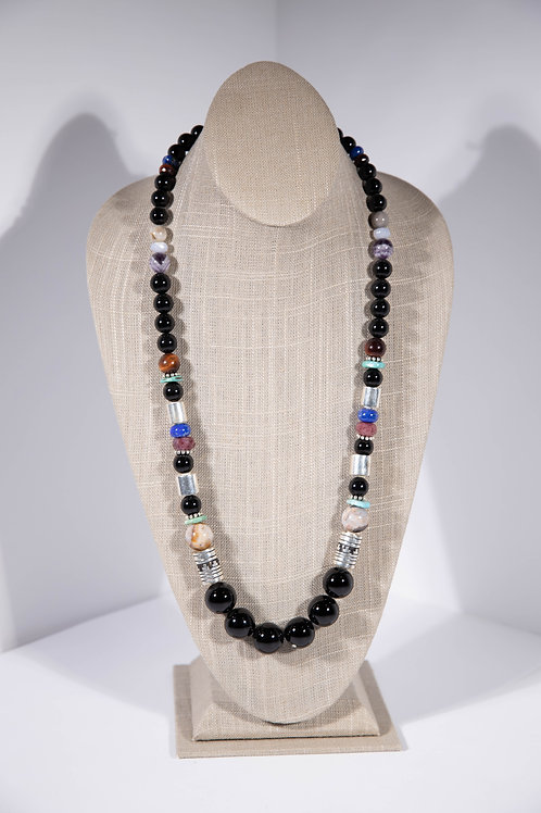 Tommy Singer Black Onyx Necklace