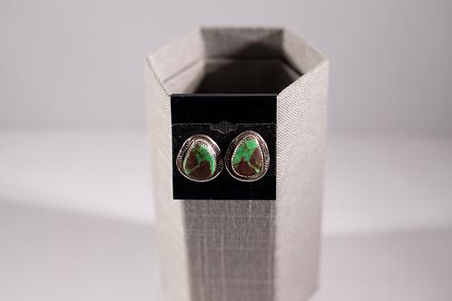 Gaspeite| Earrings