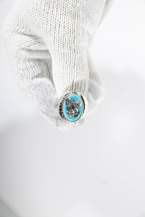 Turquoise with Eagle Ring