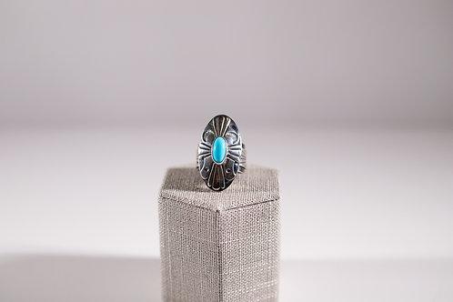 Sleeping Beauty | Southwest Style Ring
