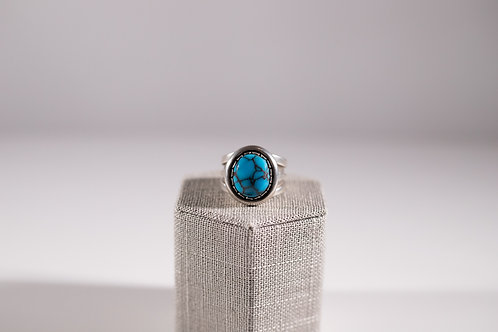 Egyptian Turquoise | Round Statement Ring