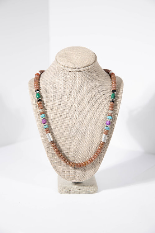 Tommy Singer Brown Agate Necklace