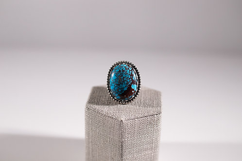 Egyptian Turquoise | Oval Statement Ring