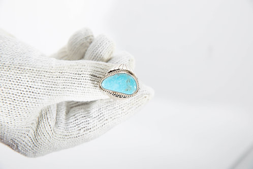 Teardrop Lone Mountain Ring
