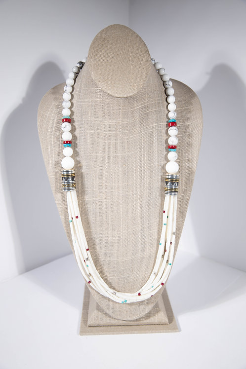 Tommy Singer White Buffalo Necklace