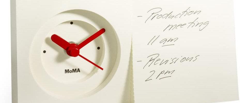 Clock Notepad Moma