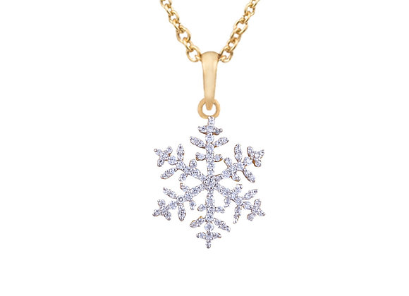 Nora the Snowflake Pendant