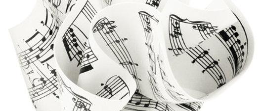 Paper Weight Sheet Music