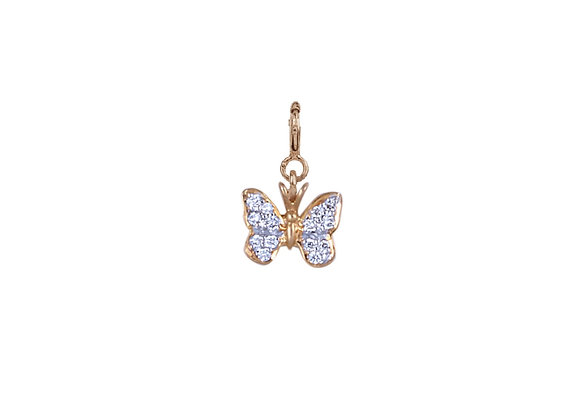 Charlotte the Butterfly Charm