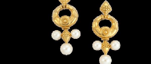 Nainika Earrings Gold