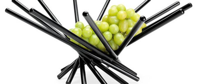 Fruit Bowl that Folds Black