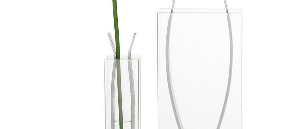Vase Ribbon Tall Small