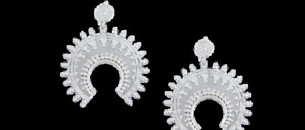Kalyani Earrings Silver