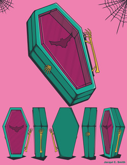 Coffin Lunchbox