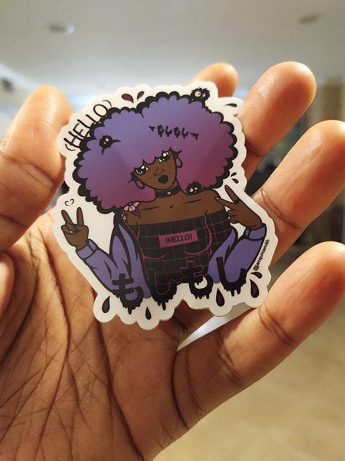 Moshi Moshi Sticker