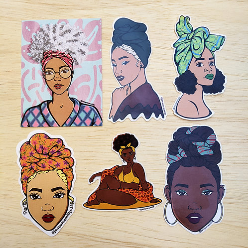 Headwrap Sticker Pack 2019