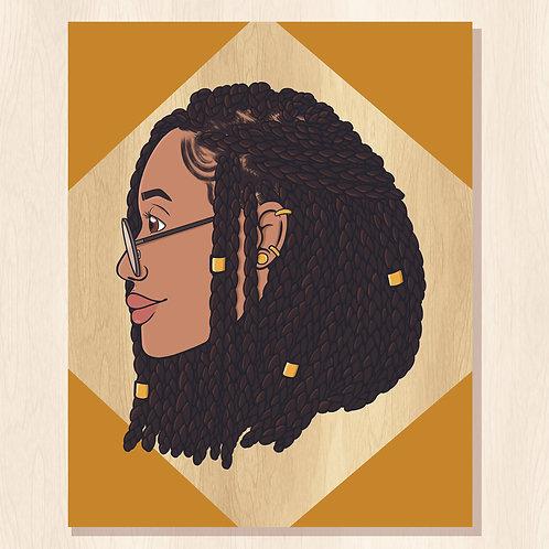 Ameena Print