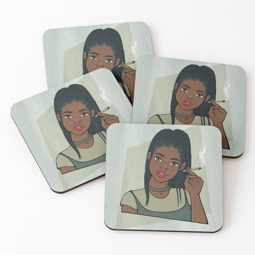 Mary Jane Coaster