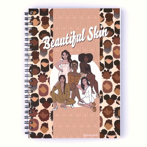 Beautiful Skin Notebook