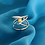 "Thumbnail: ""Fused Argentium Ring"" Saturday July 31,  2021   9:00am - 2:30pm"