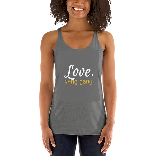 Bad & Bougee 4Real LOVE Women's Racerback Tank