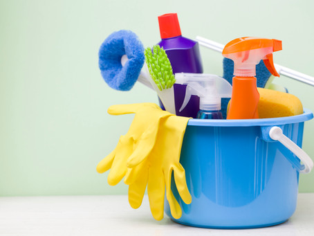 Reluctant Housewife: DIY Hand and Home Cleaners