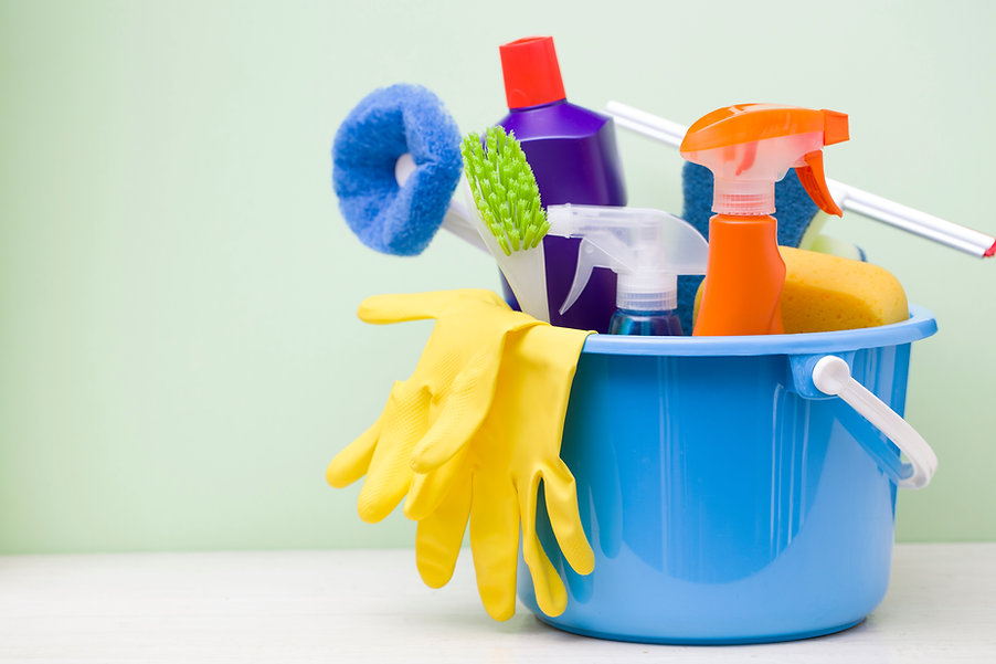 Home maintenance projects - cleaning moss and mould