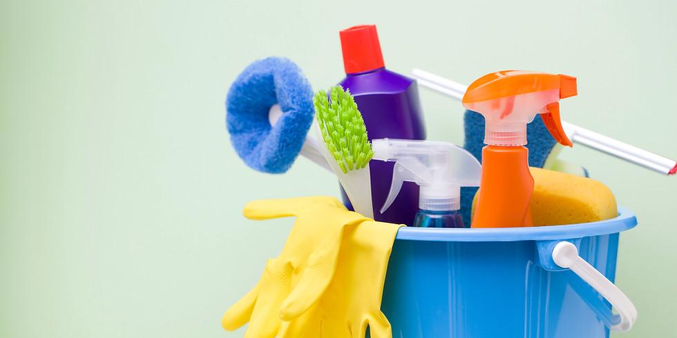 Día de Limpieza para el Campamento de Jóvenes