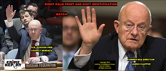 JAMES CLAPPER AKA NEBENZA RIGHT PALM PRI