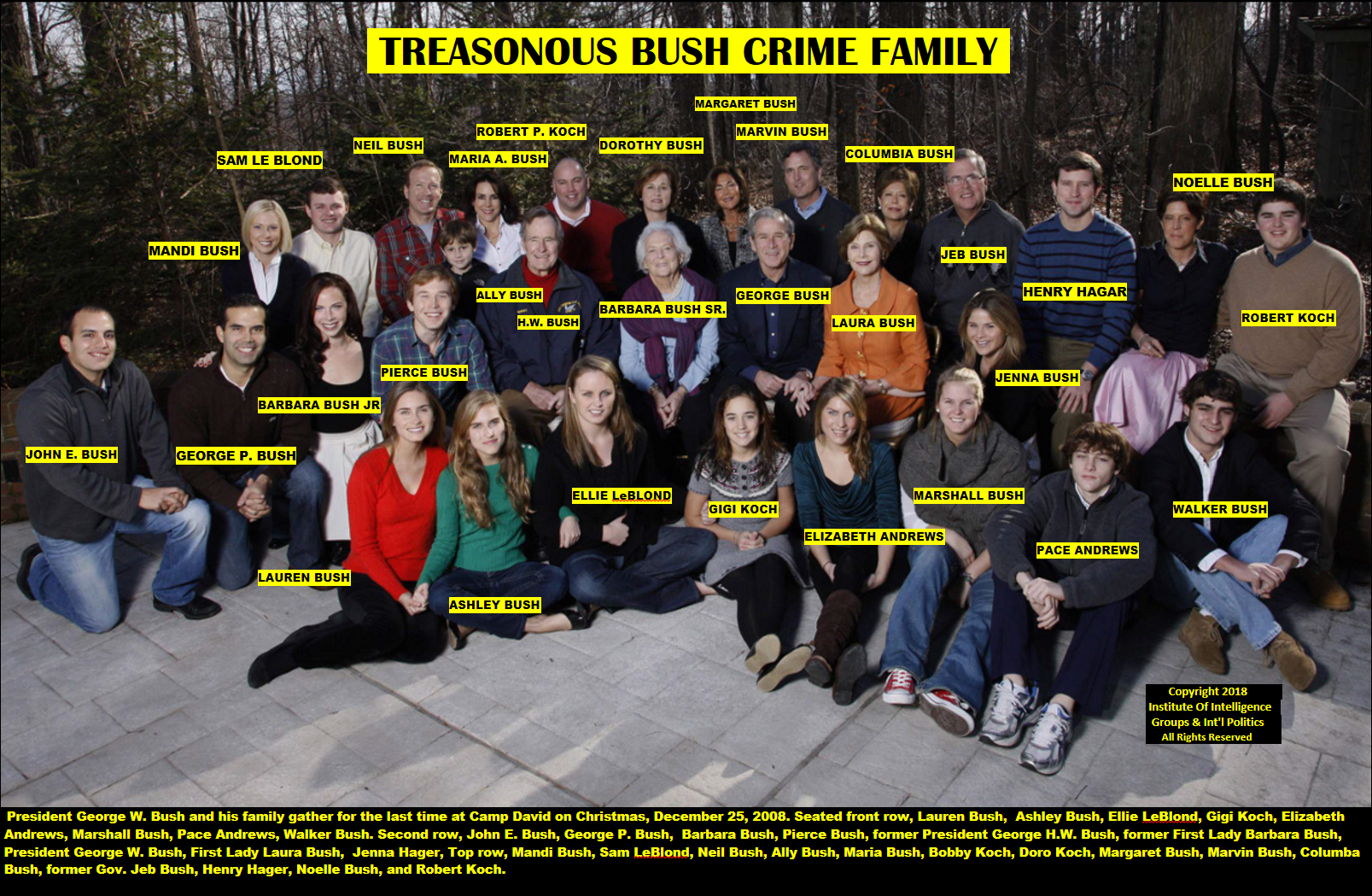 Treasonious Bush Family
