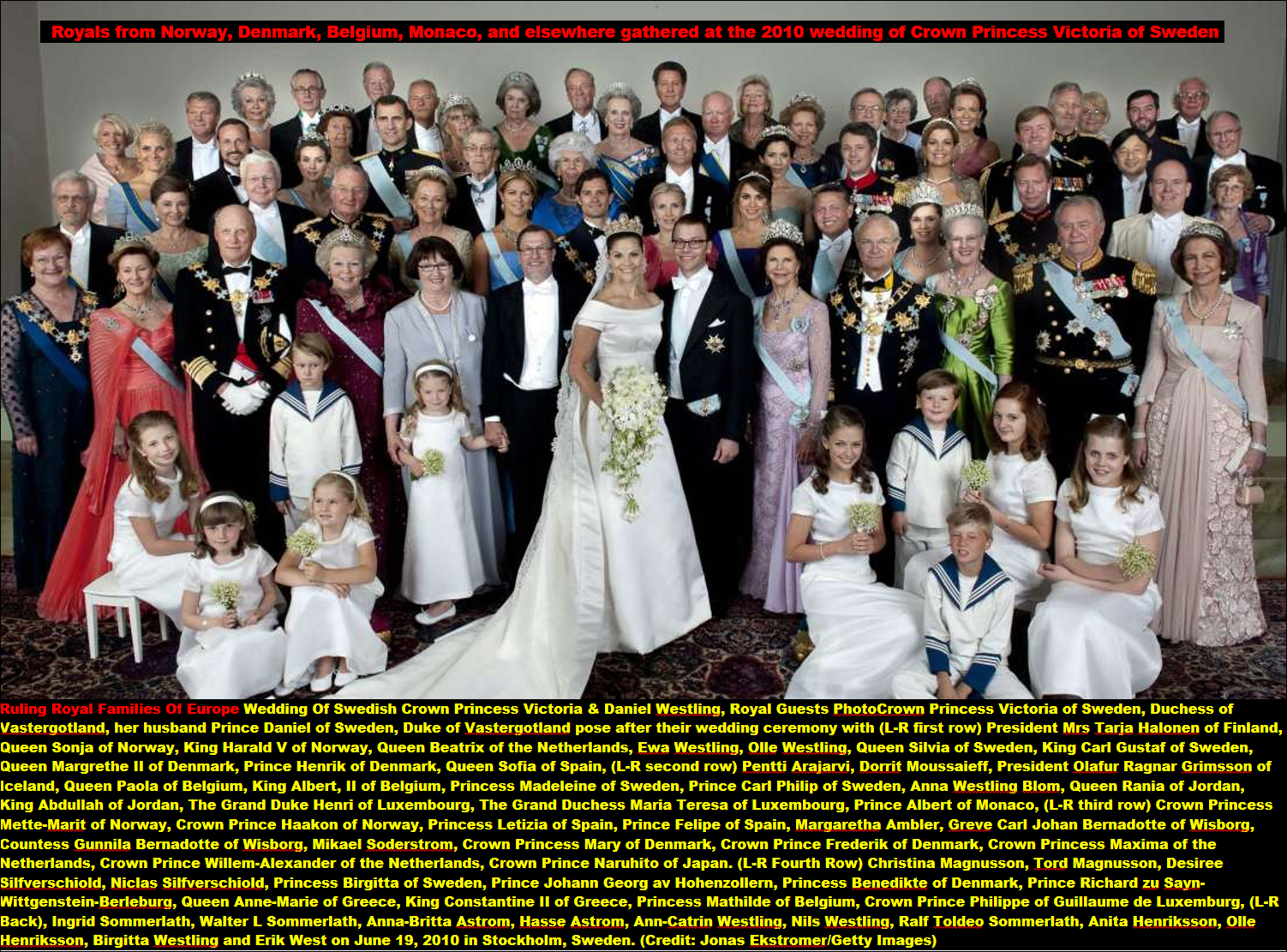 ROYAL FAMILYS THAT RULING EUROPE