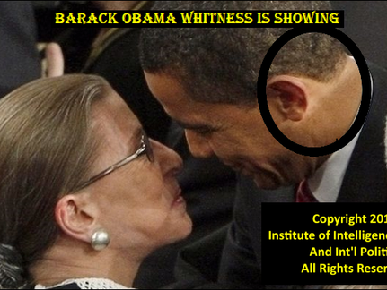 INSTITUTE EXPOSES BARACK OBAMA AS A WHITE MAN IN A MASK