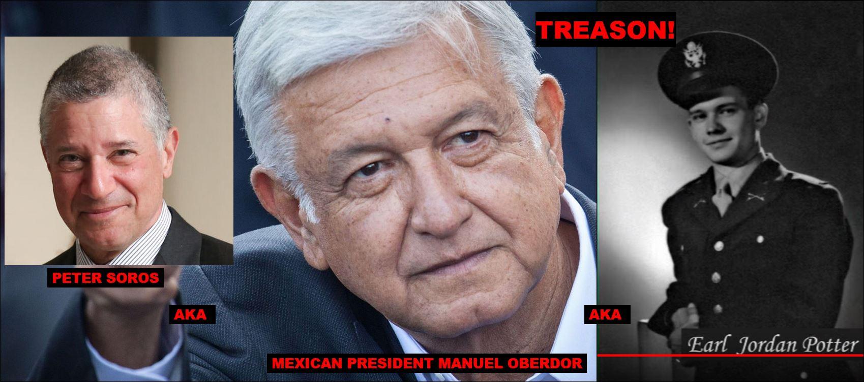 PETER SOROS AKA MEXICAN PRESIDENT OBERDO