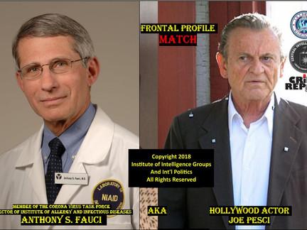 ANTHONY FAUCI EXPOSED AS CIA OPERATIVE JOE PIENKTA JR. AKA ACTOR JOE PESCI