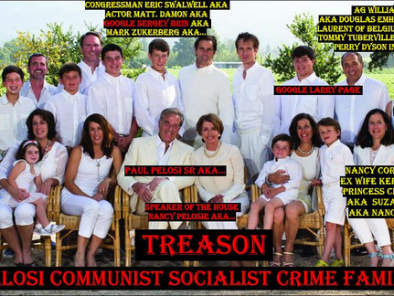 Pelosi Family Rigged the 2020 Elections, While Using CCP XI JINPING'S Resources, Family & In Laws