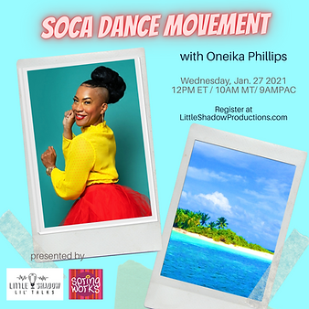 Oneika Phillips Soca Dance workshop class at SpringWorks