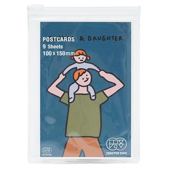 FATHER & DAUGHTER2 | Postcard set