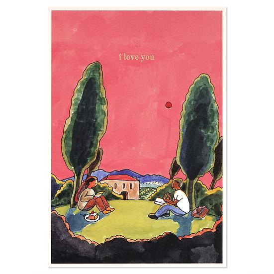 COUPLE(LOVE)   Cake card