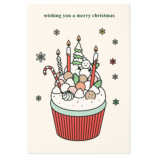 CUPCAKE | Christmas card