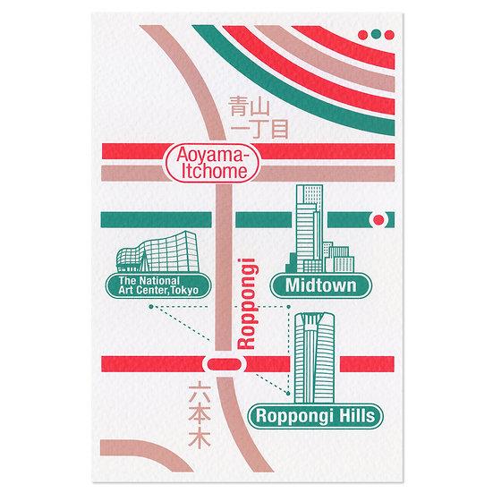TOKYO ROPPONGI2   Postcard