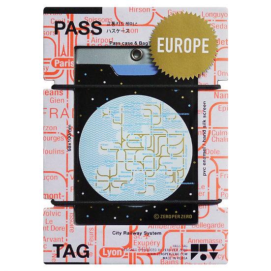 EUROPE black   Pass tag