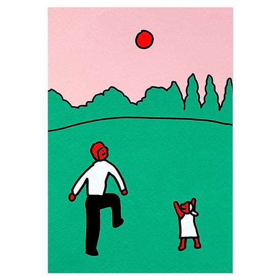 BALL GAME | Silkscreen card
