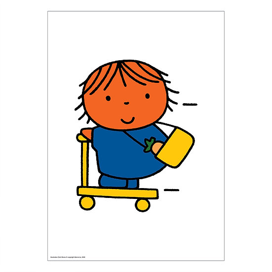 KICK SCOOTER   MIFFY A2 poster