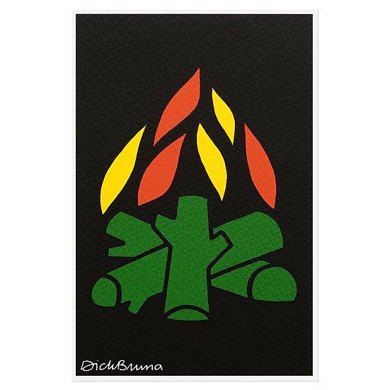 FLAME | Miffy Postcard
